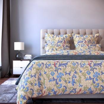 Комплект постельного белья Maken - Семейный Сатин Делюкс