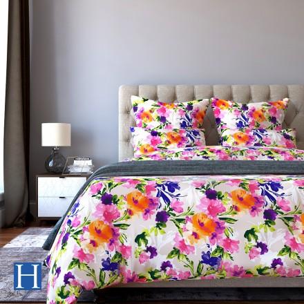 Комплект постельного белья Valencia - Евро Сатин Делюкс