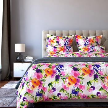 Комплект постельного белья Valencia - Семейный Сатин Делюкс
