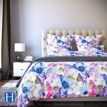 Комплект постельного белья Vanessa - 2 спальный Сатин Делюкс
