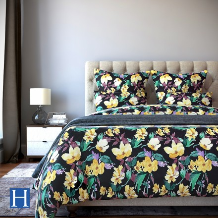 Комплект постельного белья Gwenn - 2 спальный Сатин Делюкс