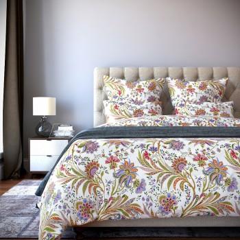 Комплект постельного белья Salina - Семейный Сатин Делюкс